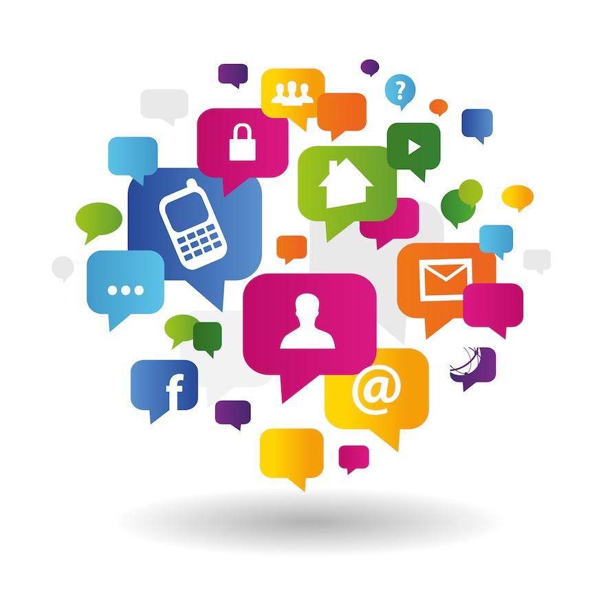 Communication numérique via les RS.