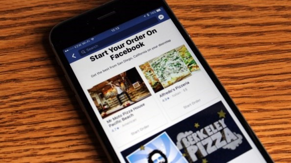 Facebook Order Food